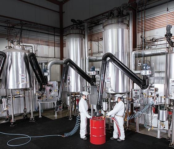 Chemline's Chemical Facility