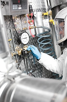 Chemline Chemical Worker