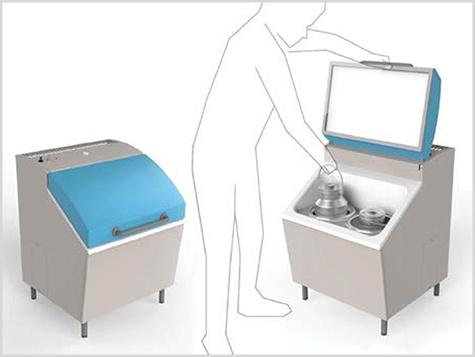 Milk cooling units