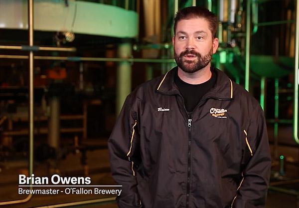 Brian Owens, O'Fallon Brewmaster