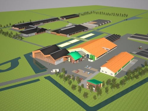 dairy campus in The Netherlands