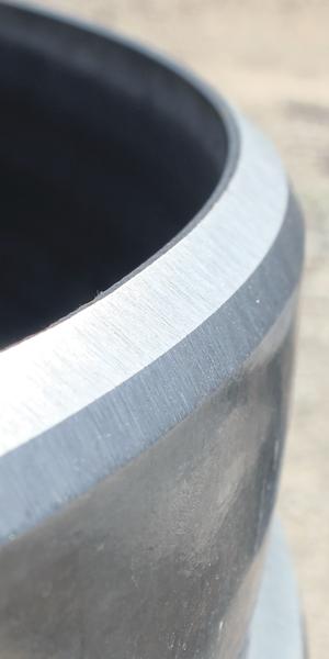 bevel edge weld preparation