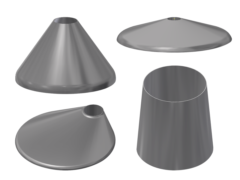 cones and conical tank heads toriconical eccentric concentric