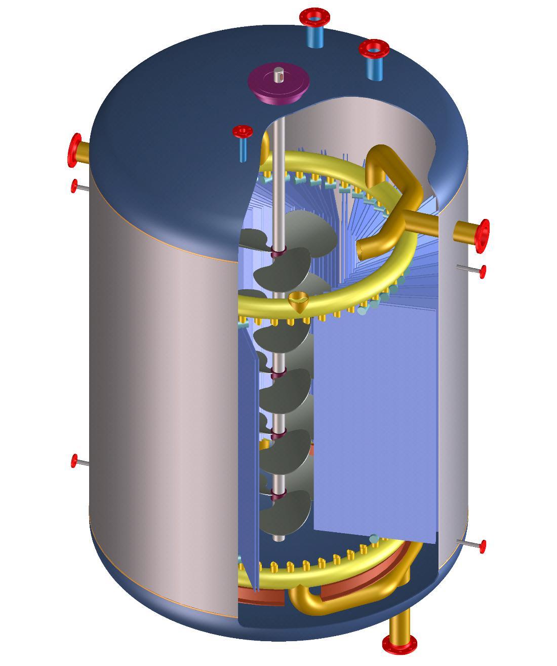 Platten-reaktor