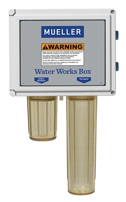 Water Works Box for Milk Cooling