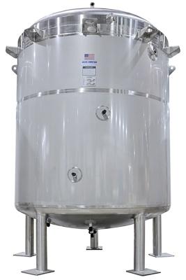 Round bottom custom tank