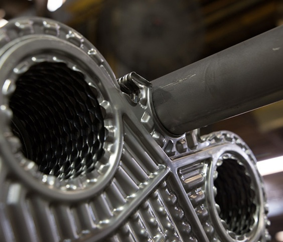 Plate heat exchanger removal