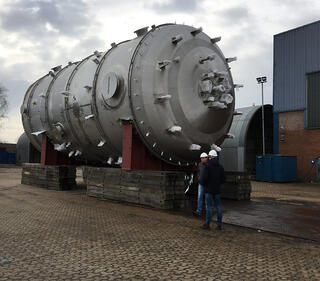 India superabsorber chemical reactor for refinery