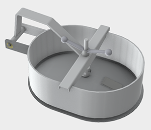 3D manway model download MC-2