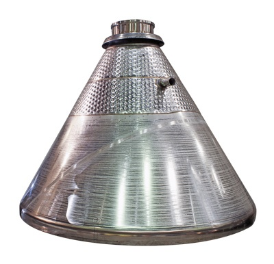 toriconical cone with heat transfer