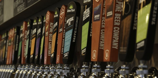Taproom Serving a Brewery Solution
