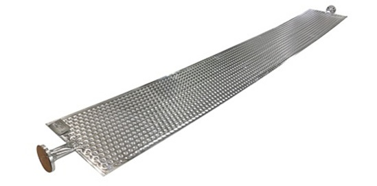 Chemical Processing Temp-Plate® Dimple Plate Immersion Assembly