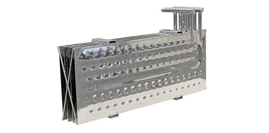 Chemical Processing Temp-Plate® Dimple Plate Bank Assembly