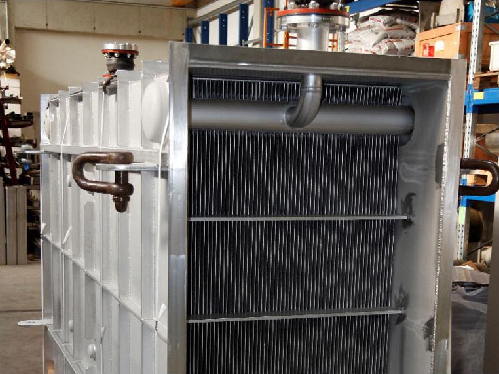 Liquid/Gas Heat Exchanger