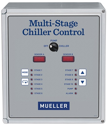 Multi-Stage-Chiller-Control-panel