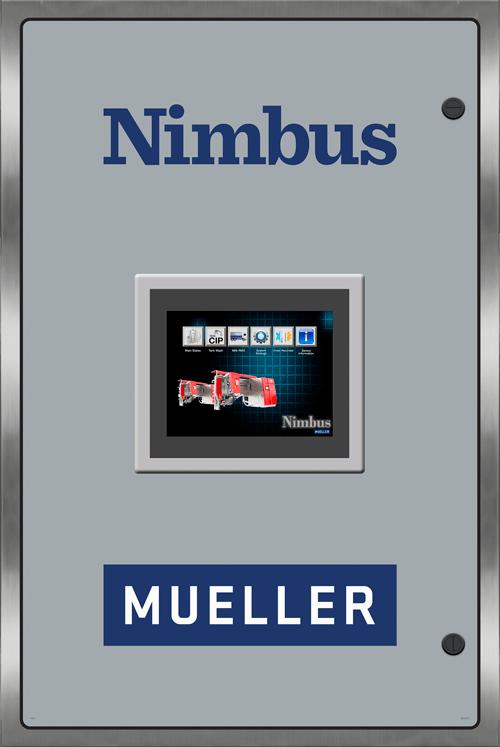 Panneau de commande de système robotisé à réservoirs multiples Nimbus