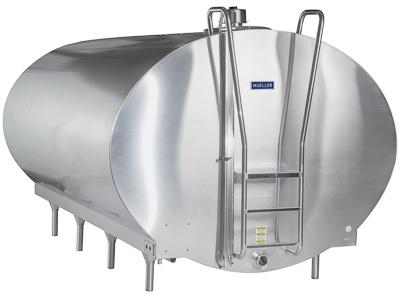 Model O Milk Cooler - Dairy Farm | Paul Mueller Company