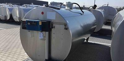 Used Delaval Milk Tanks