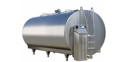 New Milk Cooling Tanks