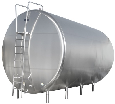 Horizontal Storage Tank - Dairy Processing | Paul Mueller