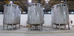 Custom dairy tanks