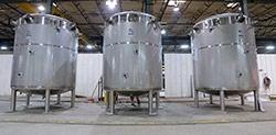 Dairy Processing Tanks