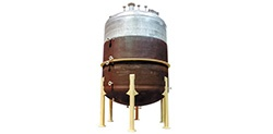 Chemical Processing Mixing Vessel