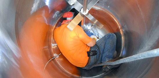 Réparation de réservoirs
