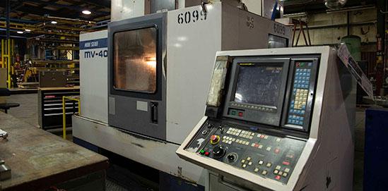 The Mori Seiki CNC Mill