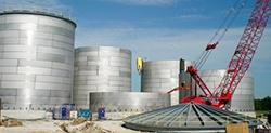 Conventional Industrial Construction Tank Fabrication