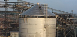 Top Down Industrial Construction Tank Fabrication