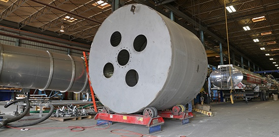 Temp-Plate® Inflated Plate Drum